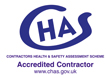 CHAS The Contractors Health and Safety Assessment Scheme - Accredited Contractor - www.chas.gov.uk